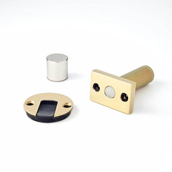 Polished Brass with Black Disc